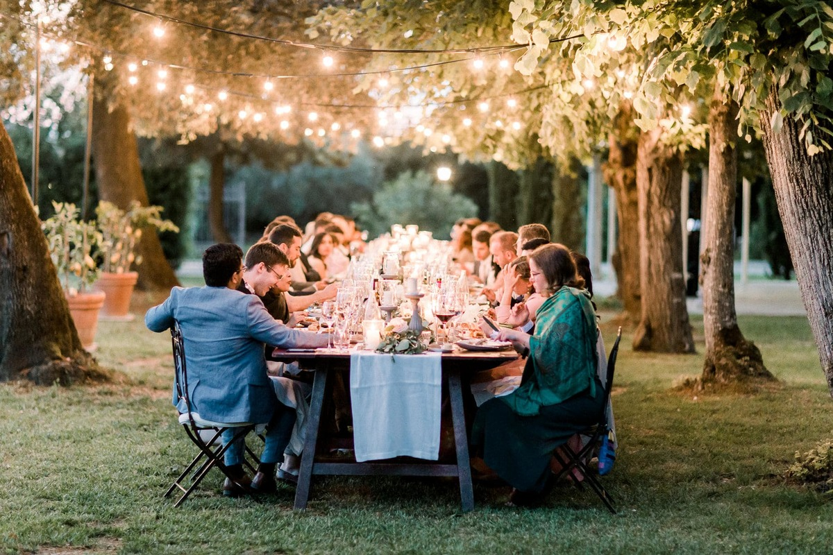 Beautiful garden style wedding in Tuscany