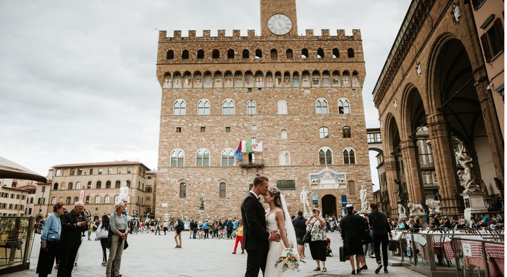 Tuscany Fairytale Destination Wedding for Two