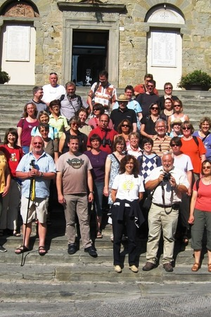 Guided walking tour of Cortona, Tuscany