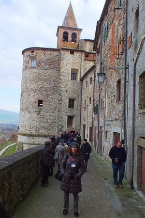 Guided walking tour of Anghiari, Valtiberina Tuscany