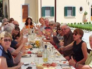 Tasting lunch after guided tour of Castiglion Fiorentino, Valdichiana Tuscany
