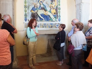 Guided tour of La Verna franciscan Sanctuary, Casentino Tuscany