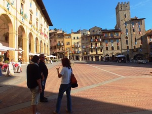 Private walking tour of Arezzo, Tuscany
