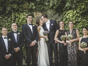Exclusive black-tie wedding in Chianti, Tuscany