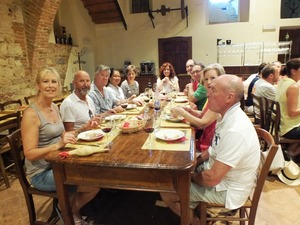Milestone birthday celebration with tour and wine tasting in Montepulciano winery, Tuscany