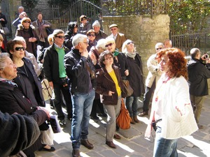 Guided walking tour of Cortona city centre, Tuscany