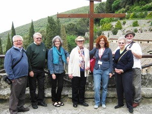 Private guided tour of the franciscan Le Celle Hermitage by Cortona