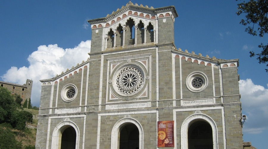 Guided tour: Cortona, St. Marguerite, St. Francis