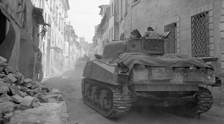 Guided tour: World War II battles in Arezzo