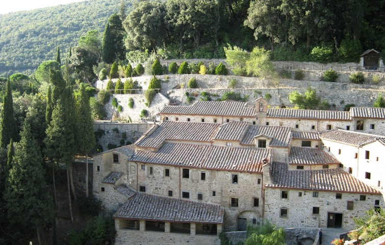 Guided tour: Cortona and The Celle Hermitage