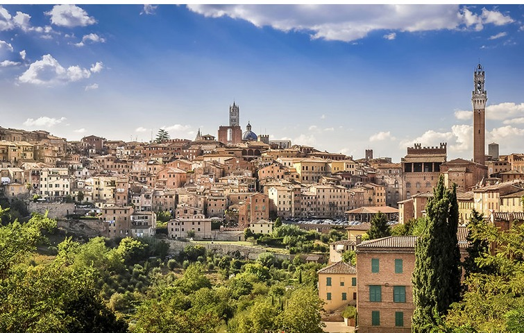 Guided tour: Siena and the Middle Ages