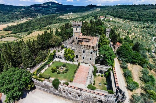 Scenic Florence Wedding Castle