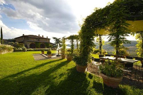 Chianti Vineyard Wedding Villa